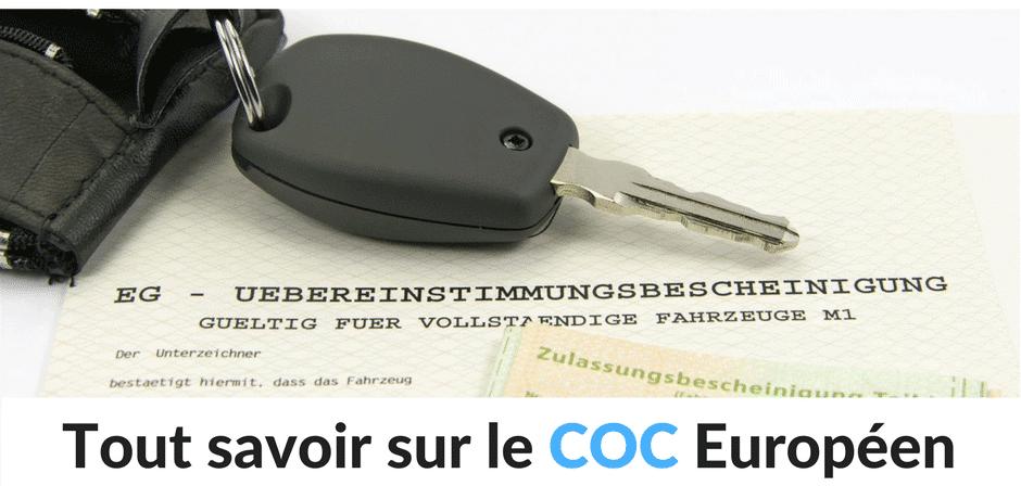 Tout savoir sur le Certificat de Conformité Européen pour une voiture